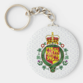 Welsh Coat of Arms detail Key Chains