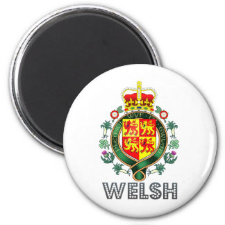 Welsh Coat of Arms Magnet