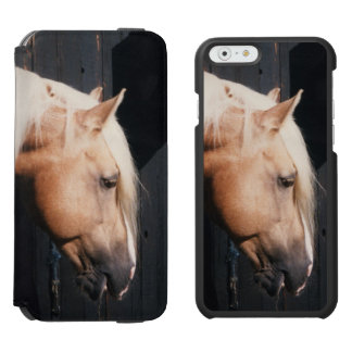 Welsh cob stallion iPhone folio wallet case Incipio Watson™ iPhone 6 Wallet Case