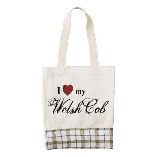 Welsh Cob Zazzle HEART Tote Bag