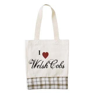 Welsh Cobs Zazzle HEART Tote Bag