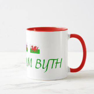 WELSH COFFEE MUG CYMRU AM BYTH