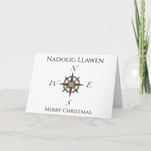 Welsh Compass Rose Christmas