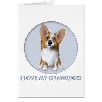 Welsh Corgi 1 Granddog Card