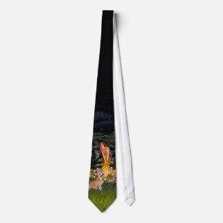 Welsh Corgi 7b - MidEve Neck Tie