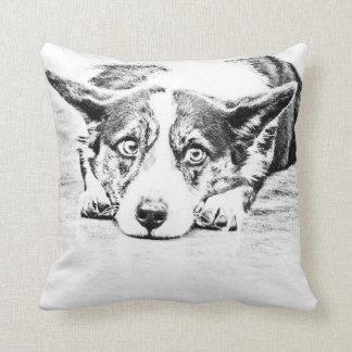 WELSH CORGI American MoJo Pillow