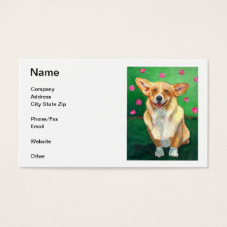 Welsh Corgi Business Card