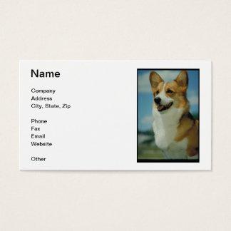 Welsh Corgi Business Cards
