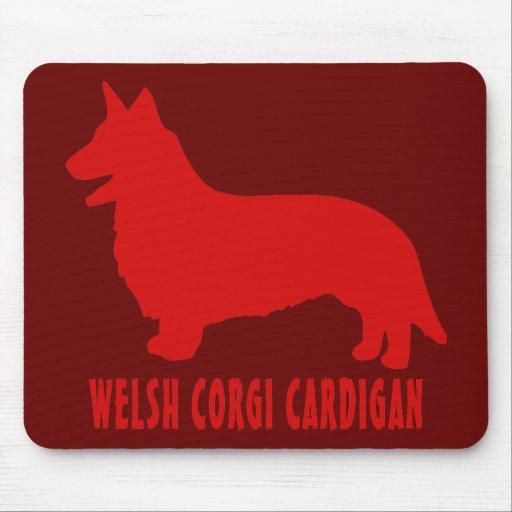 Welsh Corgi Cardigan Mousepads