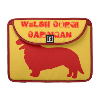 Welsh Corgi Cardigan Sleeve For MacBook Pro