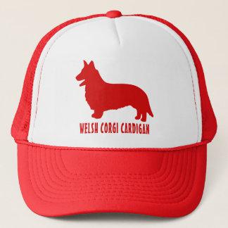 Welsh Corgi Cardigan Trucker Hat