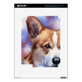 Welsh Corgi Decals For iPad 3