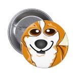 Welsh Corgi Dog Art Pins