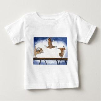 Welsh Corgi dog artistic gymnastics T Shirt