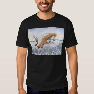 Welsh Corgi dog high jump Tee Shirt