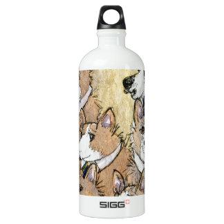 Welsh Corgi dog howl choir SIGG Traveler 1.0L Water Bottle