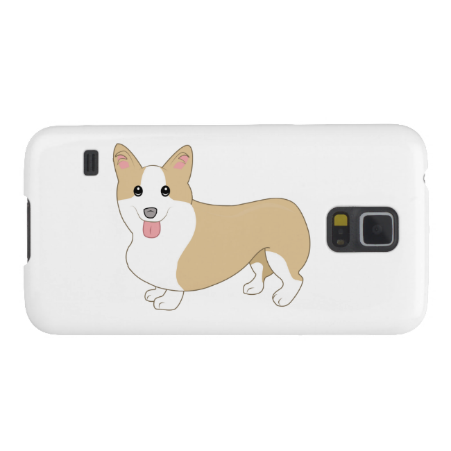 Welsh Corgi Dog Illustration Cases For Galaxy S5