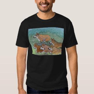 Welsh Corgi dog marathon running Shirt