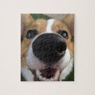 Welsh Corgi Dog Nose Collection Jigsaw Puzzle