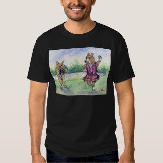 Welsh Corgi dog Scottish dancing T-shirt