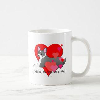 Welsh Corgi Hearts Mug