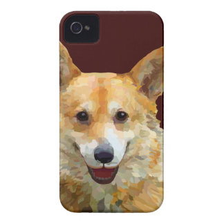 """Welsh Corgi """"Jazz"""" Fences For Fido phone covers iPhone 4 Covers"""