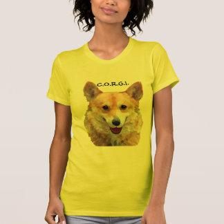 "Welsh Corgi ""Jazz"" Fences For Fido T-shirts"
