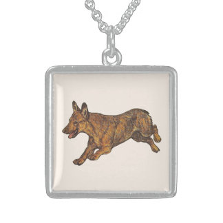 Welsh Corgi Neckwear Sterling Silver Necklace
