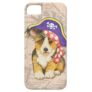 Welsh Corgi Pirate iPhone SE/5/5s Case