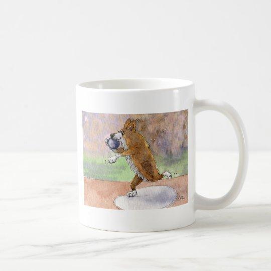 Welsh Corgi shot put Coffee Mug