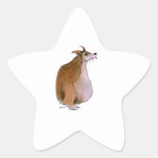 Welsh Corgi, tony fernandes Star Sticker