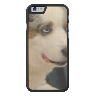 Welsh Corgi Carved® Maple iPhone 6 Case