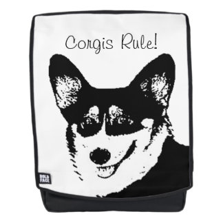 Welsh Corgis Rule Backpack