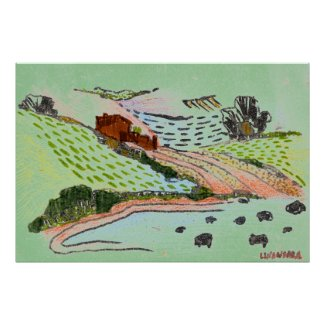 Welsh Countryside print