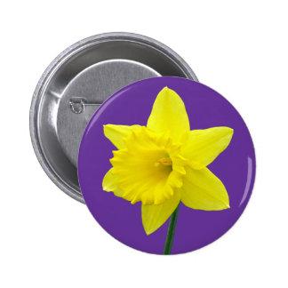 Welsh Daffodil - II Button