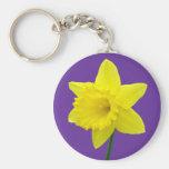 Welsh Daffodil - II Keychain