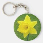 Welsh Daffodil Keychain