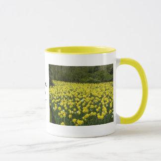 Welsh daffodils, Cymru am byth Mug