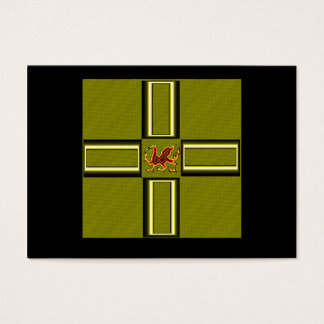 WELSH DRAGON 1 BUSINESS CARD