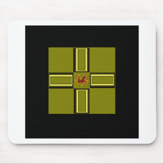 WELSH DRAGON 1 MOUSE PAD