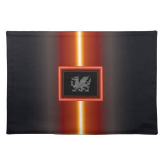 WELSH DRAGON 2 CLOTH PLACEMAT