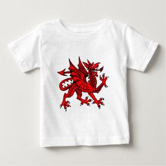 Welsh dragon baby T-Shirt