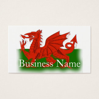 Welsh Dragon Business Card