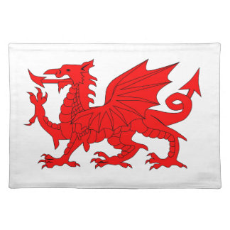 Welsh Dragon Cloth Placemat