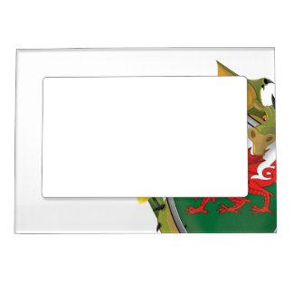Welsh Dragon Flag Magnetic Picture Frame