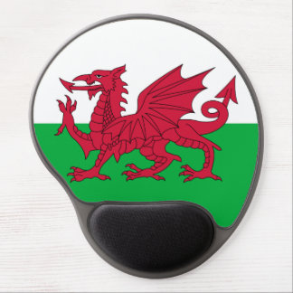 Welsh dragon flag Mousepad Gel Mouse Pad