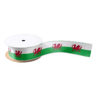 Welsh dragon flag ribbon