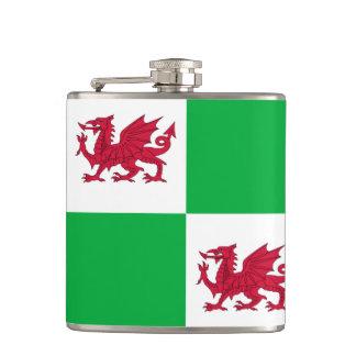 Welsh dragon flask