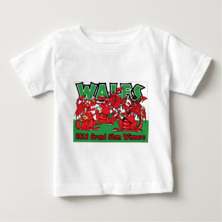 Welsh Dragon, Grand Slam Winners 2012 Baby T-Shirt