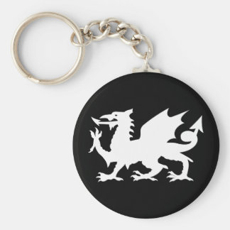 Welsh Dragon Keychains